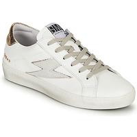 Schuhe Damen Sneaker Low Semerdjian CATRI Weiss / Gold