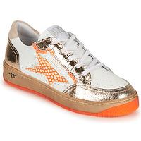Schuhe Damen Sneaker Low Semerdjian ARTO Weiss / Orange
