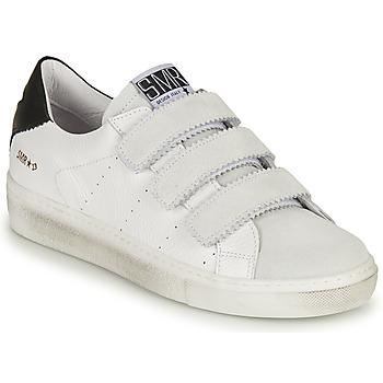 Schuhe Damen Sneaker Low Semerdjian DONIG Weiss
