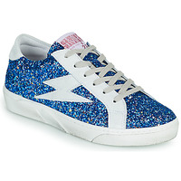 Schuhe Damen Sneaker Low Semerdjian OSLO Blau