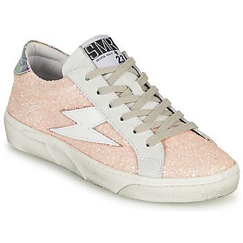 Schuhe Damen Sneaker Low Semerdjian CATMI Rose
