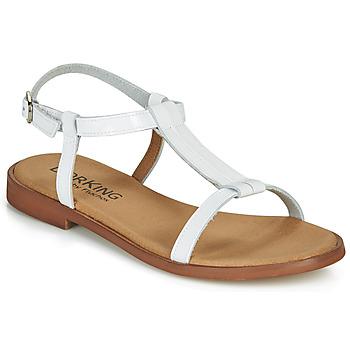 Schuhe Damen Sandalen / Sandaletten Dorking LEYLA Weiss