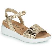 Schuhe Damen Sandalen / Sandaletten Dorking ROCK Gold