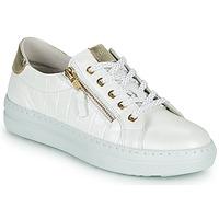 Schuhe Damen Sneaker Low Dorking VIP Weiss / Silbern
