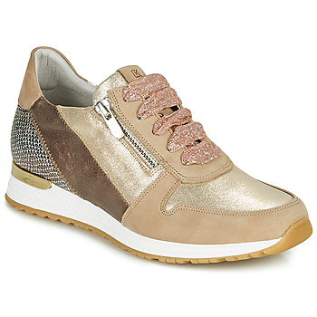 Schuhe Damen Sneaker Low Dorking VIOLA Gold