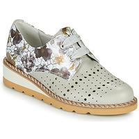 Schuhe Damen Derby-Schuhe Dorking TETRIS Grau