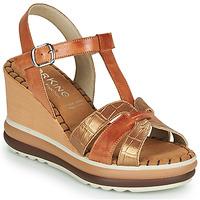 Schuhe Damen Sandalen / Sandaletten Dorking TOTEM Braun