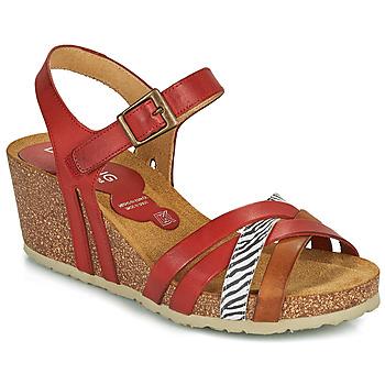 Schuhe Damen Sandalen / Sandaletten Dorking PALMA Rot