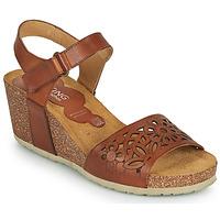 Schuhe Damen Sandalen / Sandaletten Dorking PALMA Braun