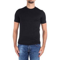 Kleidung Herren T-Shirts Cruciani CUJOSB G30 Schwarz
