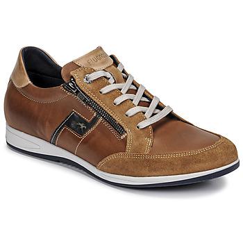 Schuhe Herren Sneaker Low Fluchos 0207-AFELPADO-CAMEL Braun