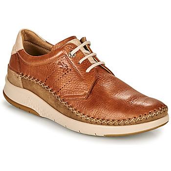 Schuhe Herren Sneaker Low Fluchos 0795-TORNADO-CUERO Braun