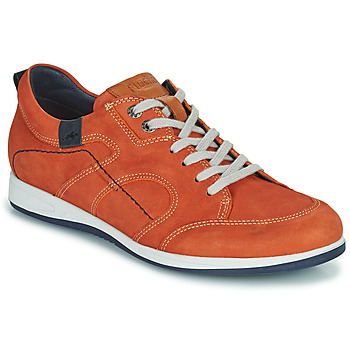 Schuhe Herren Sneaker Low Fluchos 9734-CRETA-CUERO Braun