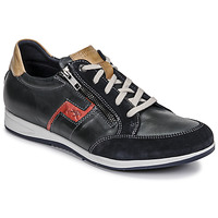 Schuhe Herren Sneaker Low Fluchos 0207-AFELPADO-MARINO Marine
