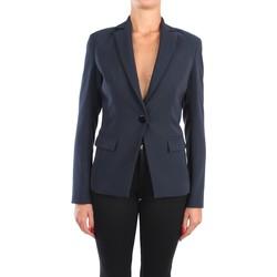 Kleidung Damen Jacken / Blazers Hanita H.J846.2838 Blazer Damen Blau Blau