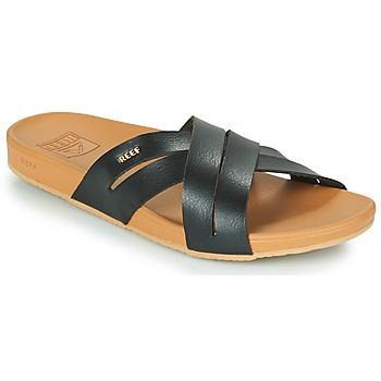 Schuhe Damen Pantoletten Reef CUSHION SPRING BLOOM Schwarz