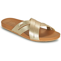 Schuhe Damen Pantoletten Reef CUSHION SPRING BLOOM Gold