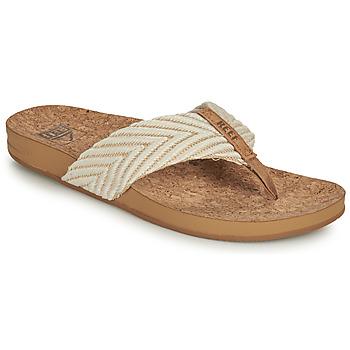 Schuhe Damen Zehensandalen Reef REEF CUSHION STRAND Weiss