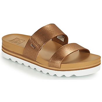 Schuhe Damen Pantoletten Reef CUSHION VISTA HI Braun