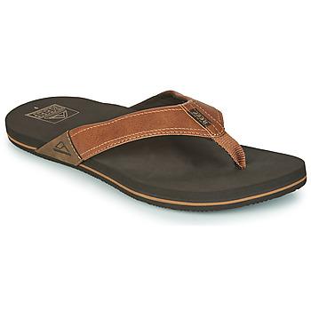 Schuhe Herren Zehensandalen Reef REEF NEWPORT Braun