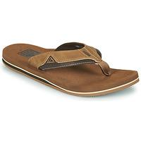 Schuhe Herren Zehensandalen Reef CUSHION DAWN Braun