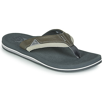 Schuhe Herren Zehensandalen Reef CUSHION DAWN Grau