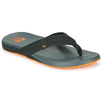 Schuhe Herren Zehensandalen Reef CUSHION PHANTOM Schwarz / Orange