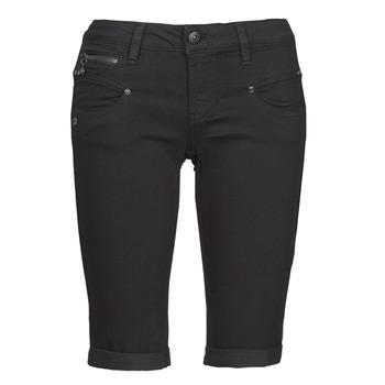 Kleidung Damen Shorts / Bermudas Freeman T.Porter BELIXA Schwarz