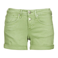 Kleidung Damen Shorts / Bermudas Freeman T.Porter ROMIE NEW MAGIC COLOR Turf / Grün
