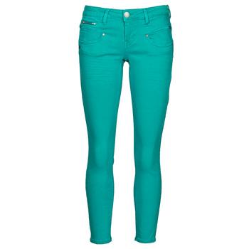 Kleidung Damen 5-Pocket-Hosen Freeman T.Porter ALEXA CROPPED NEW MAGIC COLOR Smaragdgrün / Grün