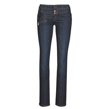 Kleidung Damen Straight Leg Jeans Freeman T.Porter AMELIE SDM Weiss / silber