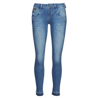 Kleidung Damen Slim Fit Jeans Freeman T.Porter ALEXA CROPPED S-SDM Blau