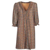 Kleidung Damen Kurze Kleider Freeman T.Porter JUNA SAMBA Orange