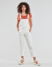 Kleidung Damen Overalls / Latzhosen Freeman T.Porter TARA MUZEY Schwarz / weiss / gold / Weiss