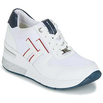 Schuhe Damen Sneaker Low Tom Tailor JISEL Weiss