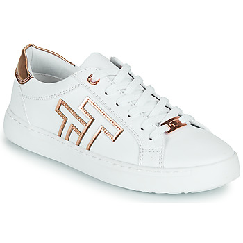 Schuhe Damen Sneaker Low Tom Tailor POUCE Weiss