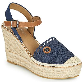 Schuhe Damen Sandalen / Sandaletten Tom Tailor DEB Marine