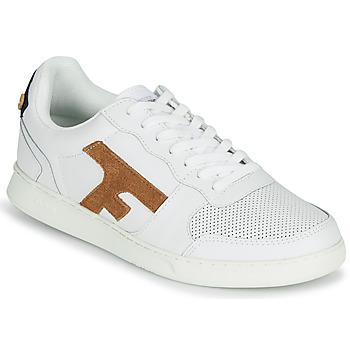 Schuhe Herren Sneaker Low Faguo HAZEL LEATHER Weiss / Braun