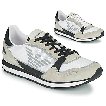 Schuhe Herren Sneaker Low Emporio Armani EMPAGNO Weiss