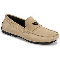 Schuhe Herren Slipper Emporio Armani ITOLIA Beige