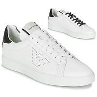 Schuhe Herren Sneaker Low Emporio Armani BELGA Weiss