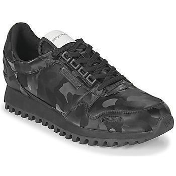 Schuhe Herren Sneaker Low Emporio Armani AUTRIA Schwarz