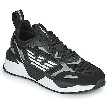 Schuhe Herren Sneaker Low Emporio Armani EA7 BLACES Schwarz
