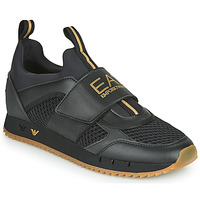 Schuhe Herren Sneaker Low Emporio Armani EA7 CALMONI Schwarz
