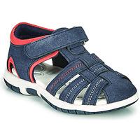 Schuhe Jungen Sandalen / Sandaletten Chicco FAUSTO Marine