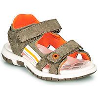 Schuhe Jungen Sandalen / Sandaletten Chicco FLAUTO Kaki