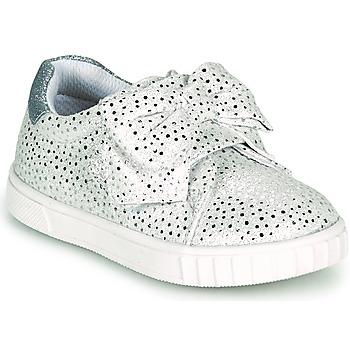 Schuhe Mädchen Sneaker Low Chicco COLOMBA Silbern