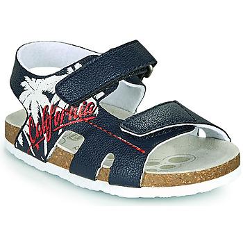 Schuhe Jungen Sandalen / Sandaletten Chicco FIUME Blau