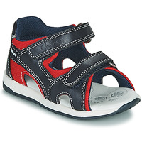 Schuhe Jungen Sandalen / Sandaletten Chicco GEREMIA Blau