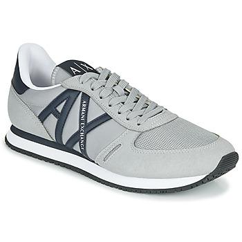 Schuhe Herren Sneaker Low Armani Exchange ESPACIA Grau